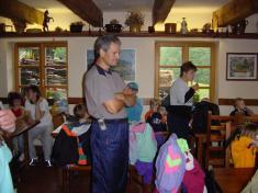 Škoní výlet - Morávka vBeskydech - červen 2003