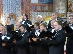 Koncert Svatováclavského hudebního festivalu vnašem kostele 3.9.2015