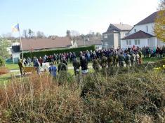 Obec Ludgeřovice si připomněla konec první světové války aden válečných veteránů