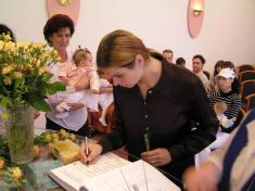 Vítání dětí 6.10.2007