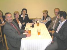 Ze slavnostní schůze členů Tělovýchovné jednoty Ludgeřovice upříležitosti 60.výročí jejího vzniku