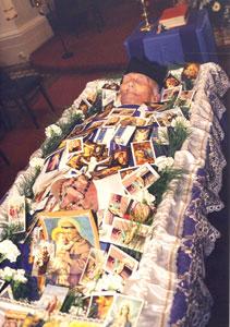 P. Antonín Dominik - fotografie zpohřbu