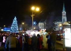 Slavnostní rozsvícení obecního vánočního stromu
