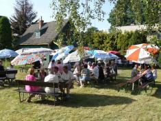 Klub důchodců Ludgeřovice tradičně přivítal léto namoštárně