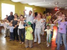 Z oslavy dětského dne vObecním domě