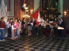 Noc kostelů vludgeřovickém chrámu svatého Mikuláše 1.června 2012