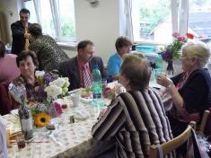 Z oslavy svátku matek vKlubu důchodců naVrablovci