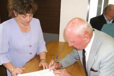 Setkání jubilantů obce – červen 2006