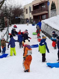 Lednové bobování dětí zCMŠ Ludgeřovice