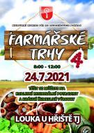 Farmářské trhy 24. 7. 2021