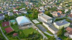 Z výstavby nafukovací haly uZŠ Ludgeřovice