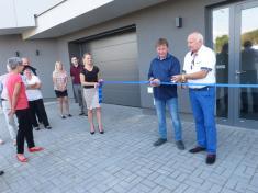 Generální ředitel firmy HP Trend Ludgeřovice Arnošt Gregořica 1.10.2016 slavnostně otevřel nový multifunkční dům AMG