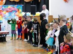 Dětský maškarní karneval 8.3. 2020