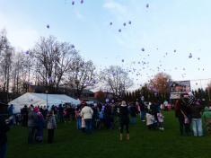 Vypouštění balónků spřáním kJežíškovi