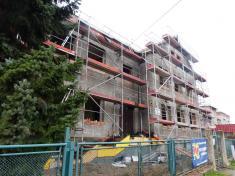 Rekonstrukce budovy Dolní školy dobře pokračuje