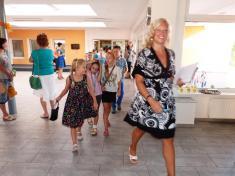 Zahájení nového školního roku (r. 2015)