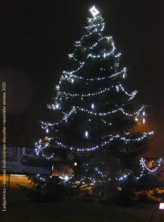 Slavnost rozsvícení obecního vánočního stromu 29.11. 2020