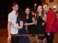Party ples promladé 1.2. 2020