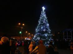 Rozsvícení obecního vánočního stromu 30.11. 2019