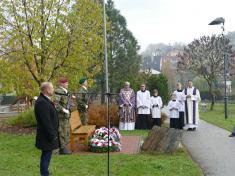 Oslava Dne válečných veteránů vnaší obci 9.11. 2019