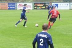 Z fotbalového utkání mužstev TJ Ludgeřovice - FK Chlebičov