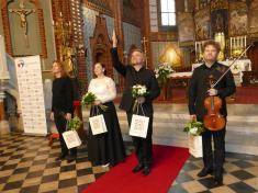 Koncert Svatováclavského hudebního festivalu vnašem kostele 15.9. 2019