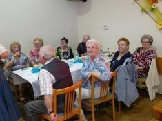 Jarní květinový ples klubu důchodců Vrablovec vObecním domě