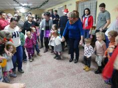 Mikuláš přišel 2.12. 2018za dětmi doareálu chovatelů