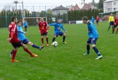 Z posledního podzimního utkání fotbalového mužstva TJ Ludgeřovice vkrajské soutěži IA.