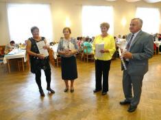 Jubilanti vKlubu důchodců Ludgeřovice 2018