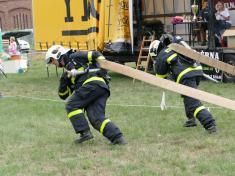 Soutěž dobrovolných hasičů naMenšíkové louce 1.9. 2018