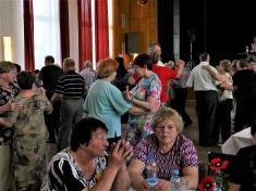 Přátelský večírek Klubu důchodců Vrablovec 20.4.2018
