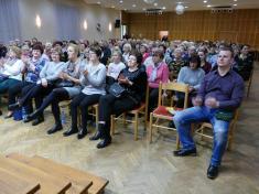 Ochotníci zTěškovic hráli vObecním domě veselou taškařici Habaďůra - 9.3.2018