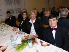 Vystoupení mužského pěveckého souboru Spevokol združebního města Tisovec (SR) 24.11.2017