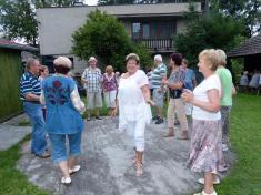 Klub důchodců Ludgeřovice seloučil slétem - 25.8.2017