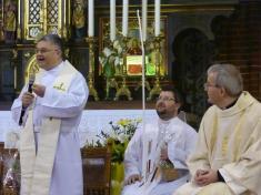 Slavnostní mše vchrámu sv.Mikuláše