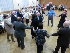 Z večírku Klubu důchodců Ludgeřovice