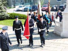 Letošní slavnost uctění patrona hasičů sv.Floriana 3.5.2015