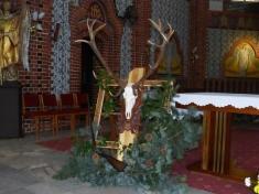 Slavnost kuctění patrona myslivců sv.Huberta
