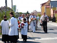 Z pietní vzpomínkové slavnosti semší svatou kestému výročí vypuknutí První světové války