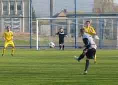 Z prvního jarního utkání fotbalistů TJ Ludgeřovice vI.A třídě nadomácím hřišti