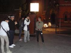 Korejští filmaři uludgeřovického kostela