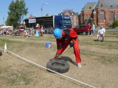 Z velké víkendové hasičské soutěže pořádané ludgeřovickými hasiči
