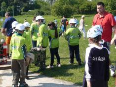 Ze soutěže nejmladších hasičů